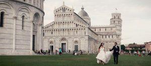 Giovanni e Carmen, un Matrimonio tra Pisa e la scogliera Toscana