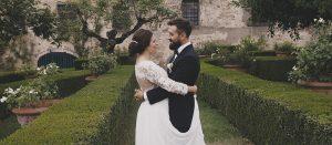Enrico e Linda, Matrimonio Villa Le Corti