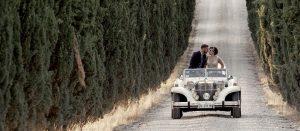 Cesare e Giulia matrimonio a San Gimignano, Tenuta il Quadrifoglio