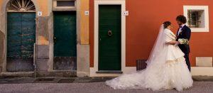 Stefano e Benedetta, matrimonio invernale in Toscana